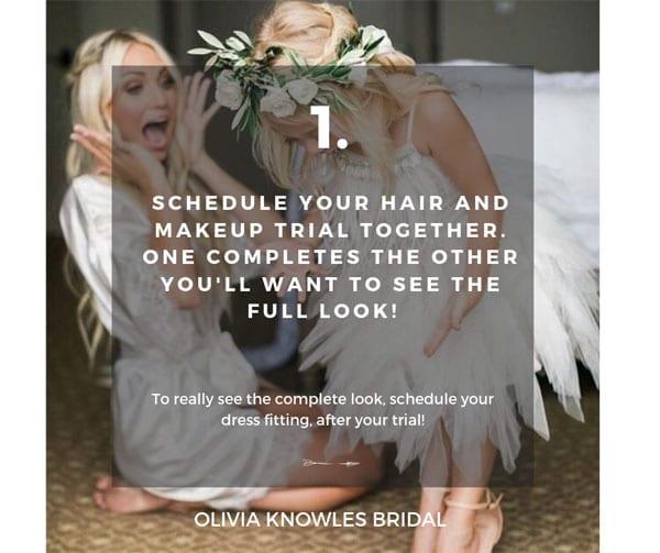 Bridal Hair Tip 1