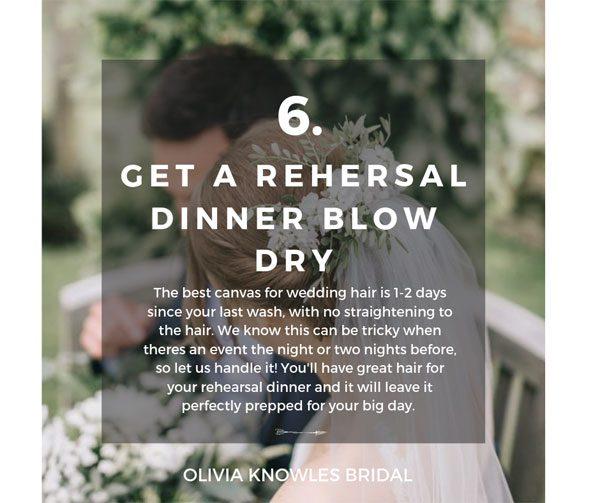 Bridal Hair Tip 6