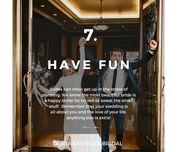 Bridal Hair Tip 7